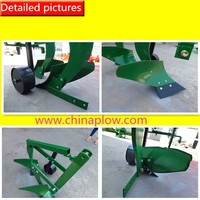Furrow plough parts on steel plowing machine