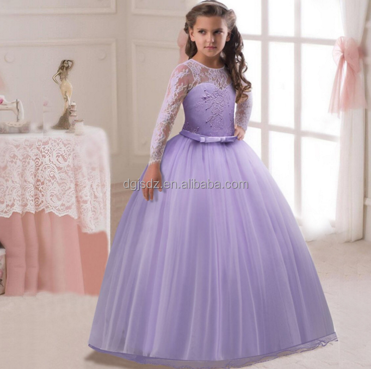 Girls long party dresses baby girl party dress children frocks designs 10 year old girl dresses for party