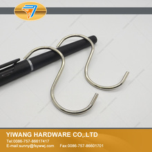 10 years manufacturer high quality wholesale metal nickel small s hooks