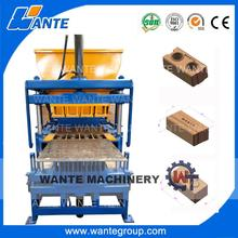 WT4-10 interlocking brick machine price,soil crusher machine price