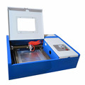 small 40w desktop laser cutter engraver for rubber stamp wood acrylic