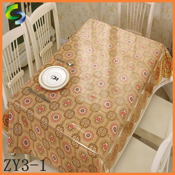 New Style Partial Transfer Table Cloth from Yiwu Factory
