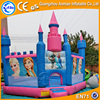 0.55 mm PVC cheap price inflatable frozen bouncer castle,inflatable frozen jumping house, inflatable castle with slide for kids