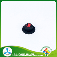 Customized silicone push button cover