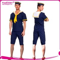 2015 Wholesale factory price navy mens sailor costume
