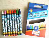 2/3/4ct Cello pack/Box pack/bulk pack cheap crayons box