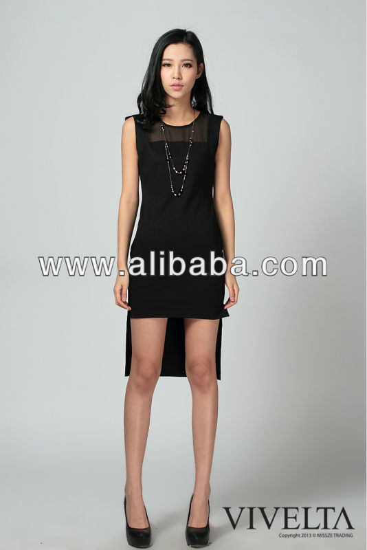 2013 Fashion Party Dress-Black