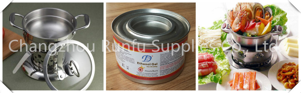 methanol gel heating fuel for food heating