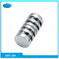Bathroom handle , with competitive price of zinc bathroom glass door knob