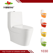 china supplier ceramic bathroom design colored washdown one piece toilet
