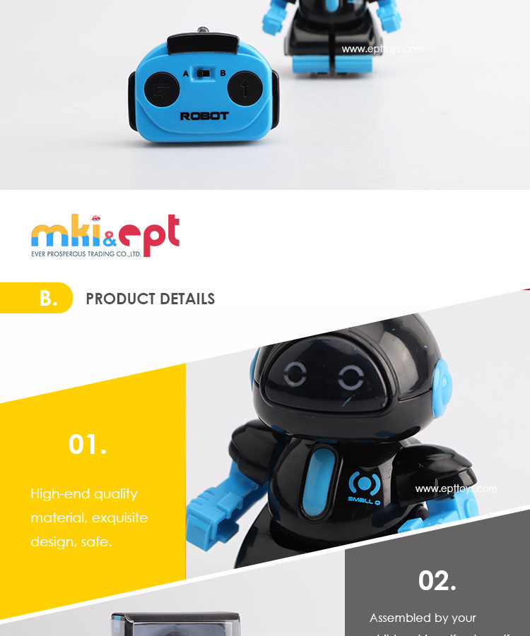 New arrival lovely remote control intelligent robot toy
