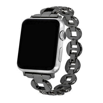Stainless Steel Metal Replacement Wristband Strap For Apple Watch 38mm 40mm 42mm 44mm