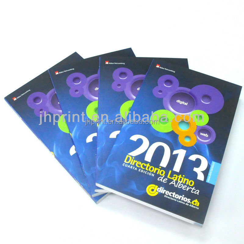 oversea offset 2015 new product wholesale bulk brochure catalog printer
