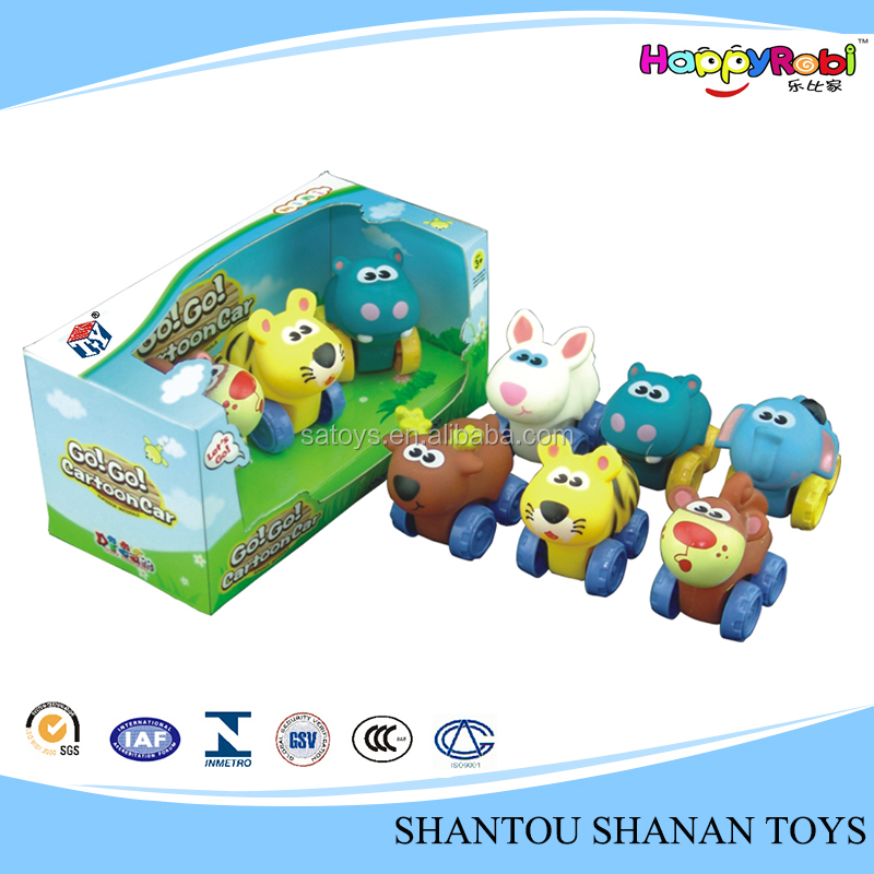 New wind up cartoon small animals plastic toys
