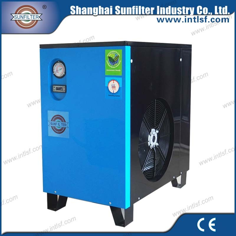 Good choice mobile air compressor 1000l tank with air dryer