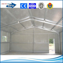 China made light weight prefab hot dipped galvanized steel structure building