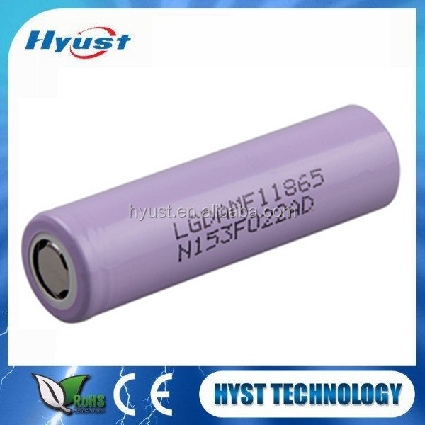 18650 Lg Mf1 2200mah LGDAmf1 Battery Cell 3.7v 10a discharge