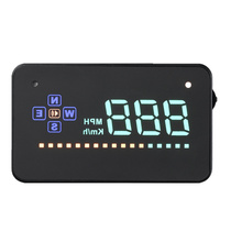 A2 Car HUD Head Up Display Speed Alarm Fule Consumption Plug & Play Car-Styling windshield projector For All The Cars 12