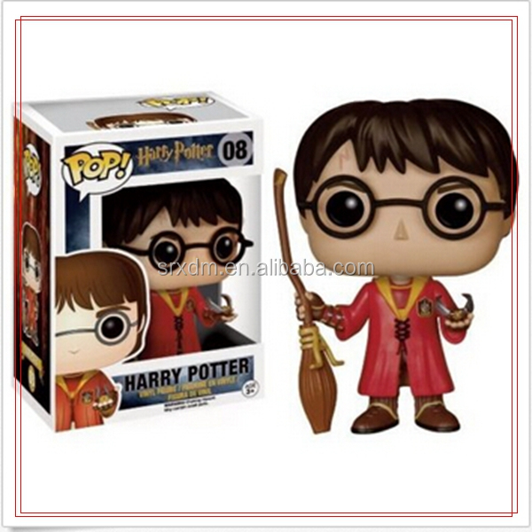 Funko POP design Vinyl art toy Potter character design custom plastic figure/Customized high quality Potter Vinyl Funko POP