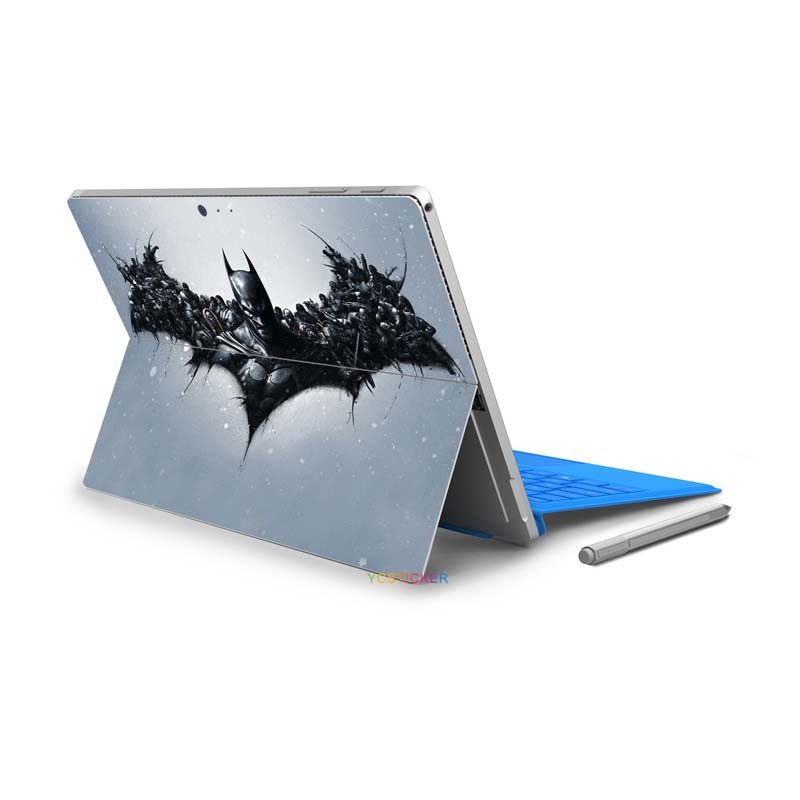 2017 items laptop skin oracal vinyl sticker unique design the joker decal sticker for microsoft surface pro 4