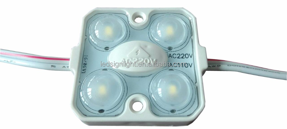 High voltage led 220VAC led module lights for signage and storefront, driverless