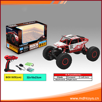 Multicolor 2.4GHz 1/18 scale ABS plastic 4wd electric power rc toy car