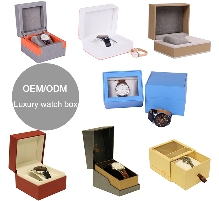 Factory oem unique travel pillow watch box for men