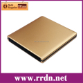 USB3.0 Aluminum External Drive Enclosure(Golden)
