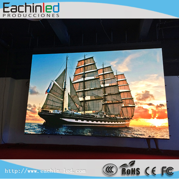Full Color P2.5 Video Indonesia Led Screen For Stage Background