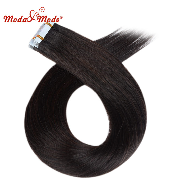 Skin Weft Tape virgin indian hair, Remy Hair Extensions