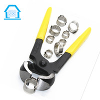 Carbon Steel Hose Galvanized ear cropping clamp