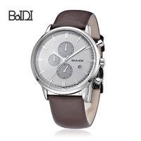 Fashion Luxury chronograph quartz wrist watch with date