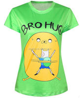 100% cotton t shirts full sleeve 100% soft sueded cotton t-shirts adult cartoon t-shirts men customized style bamboo t shirts