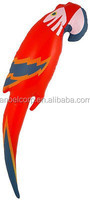 Inflatable Blowup Parrot Bird Hawaiian Beach Party Pirate Fancy Dress Costume