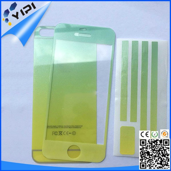 Anti radiation cell phone screen protector, for iphone 6plus anti radiation tempered glass screen protector