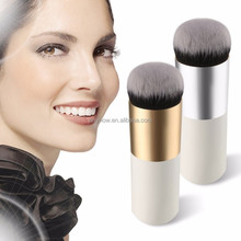 Beauty Care wooden Mini Single Short fat handle foundation powder makeup brush