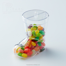 Kwang Hsieh Boot Shaped Clear Plastic Candy Ornament Packing Box