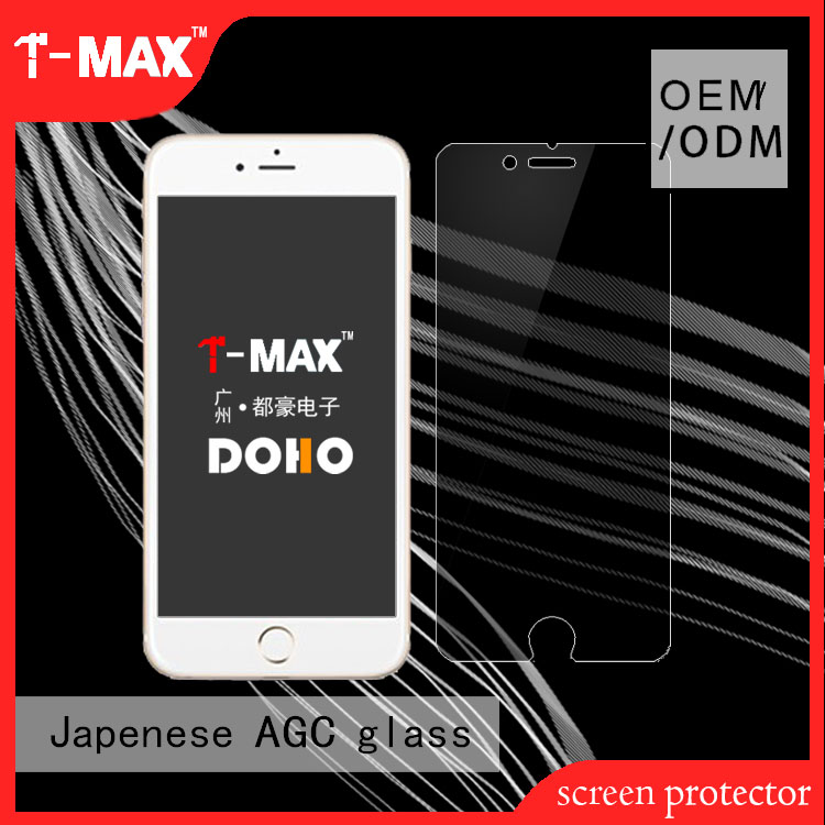 2017 phone parts products 2.5D explosion-proof anti-scratch privacy tempered glass screen protector For LCD iPhone 6 Plus