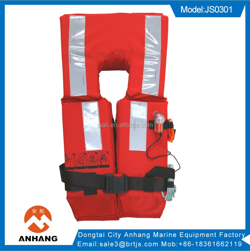 china manufacture custom solas life jacket