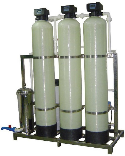 Water treatment with Quartz sand filter