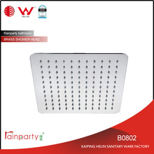 "Watermark certification 8"" Square Stainless Steel Shower Head"