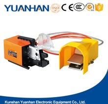 Pneumatic cable crimp tool air/wire terminal crimp machine