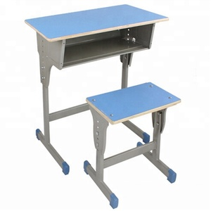 Cheap School Desk And Chair Height Adjustable Student Desk Chair Set Classroom Desk And Chair Wood Primary School Furniture