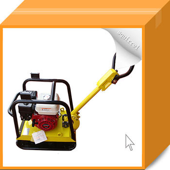 Gasoline Plate Compactor with Honda Engine HZRS180 with CE
