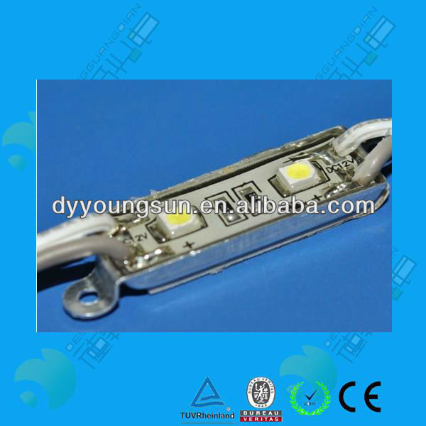 Aluminum Housing 2 PCS 3528 SMD LED Module