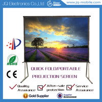 Foldable projection screen any shap and any size customized for video advertising //holographic