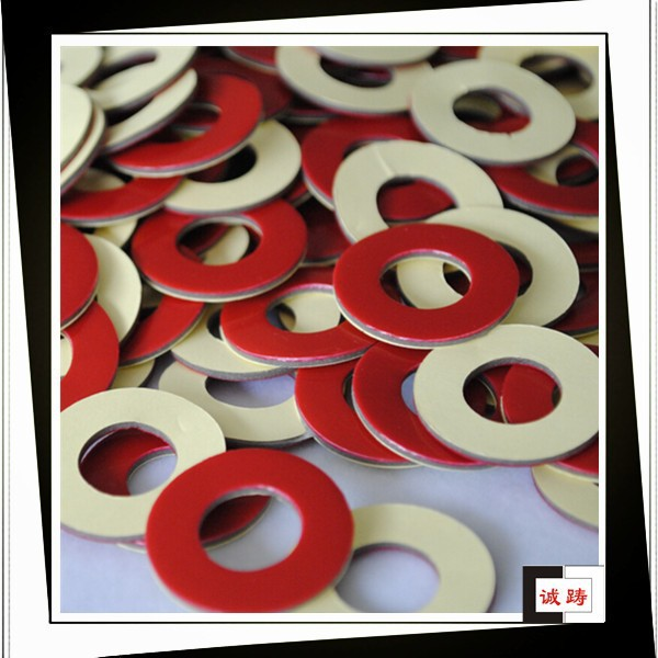 Double sided acrylic adhesive die cut closed cell foam sheet