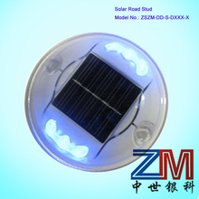 Aluminum alloy Solar Driveway Marker/ Traffic Road Stud With flashing Model And Stead Model