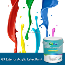 No Color Fading G3 External Wall Building Paint