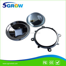 High Quality 78MM 60 Degree LED Glass Lens , High Temperature Resistance,Perfect Light Concentration Led Lens for Street Light
